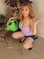 MarissaExotic 47 year old Marissa from AllOver30 doing a little naked gardening