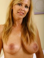 Nicole Moore showing her fantastic mature tits