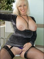 Mature amateur big titted blonde MILF Sandy