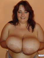 MILF with big mature tits