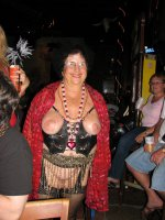 Crazy partying mature and chubby amateur flashers