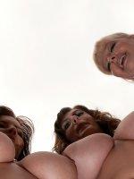 Arianna Sinn, Valory Irene, Lana Ivans, Sophie Mae - Big Tits, Lesbian