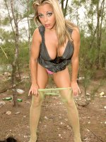 Amber Lynn Bach - Big Tits, Blowjob, Cumshot