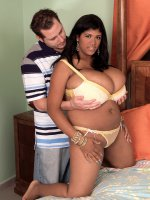 Kristina Milan - Big Tits, Blowjob, Cumshot, Natural Boobs