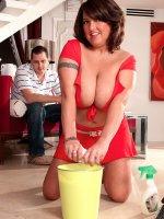 Stephanie Stalls - Big Tits, Blowjob, Cumshot