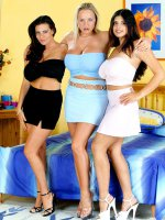 Linsey Dawn McKenzie, Jessica Turner, Kerry Marie - Natural Boobs