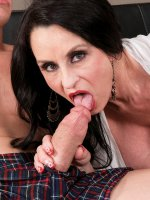Rita Daniels - Blowjob, Cumshot, Mature