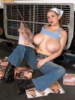 Christy Marks - Big Tits, Natural Boobs